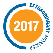 The Extraordinary Appraiser Award 2017