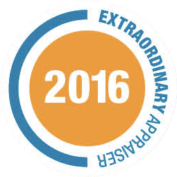 The Extraordinary Appraiser Award 2016 Logo
